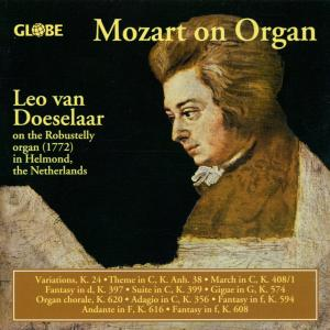 Mozart on Organ als CD
