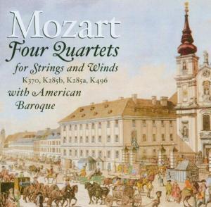 Quartette Für Bläser & Streicher als CD