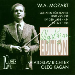 Violinsonaten KV 380,KV 403,KV 454,KV 372,KV 404 als CD