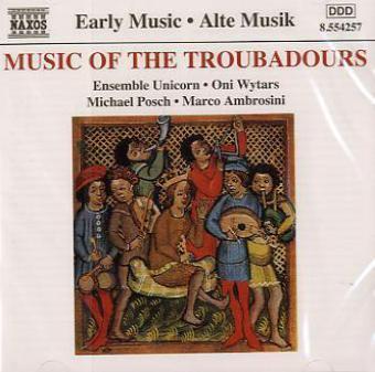 Musik Der Troubadoure