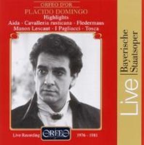 Domingo Highlights:Fledermaus/Tosca/Aida/Manon als CD