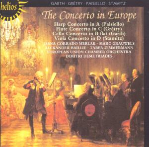 The Concerto In Europe als CD