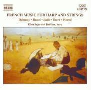 Französische Musik Für Harfe Und Streicher.