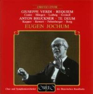 Messa da Requiem/Te Deum C-Dur als CD