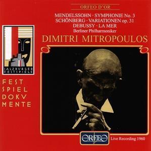 """Sinfonie 3 """"Schottische""""/Variat.op.31/La Mer als CD"""