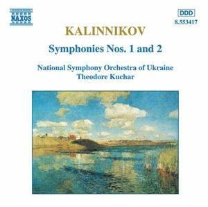 Sinfonien 1+2 als CD