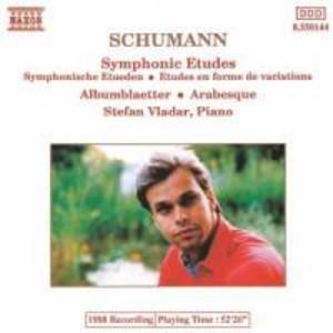 Sinfonische Etüden/Albumblatt/Arabesque als CD