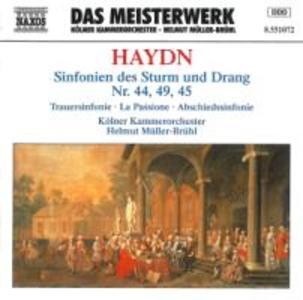 Sinfonien 44+49+45 als CD
