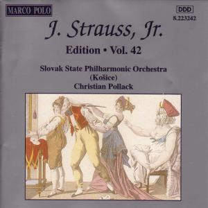 J.Strauss,Jr.Edition Vol.42 als CD
