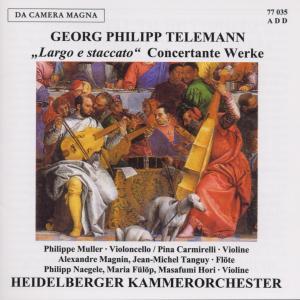Largo E Staccato-Concertante Werke als CD