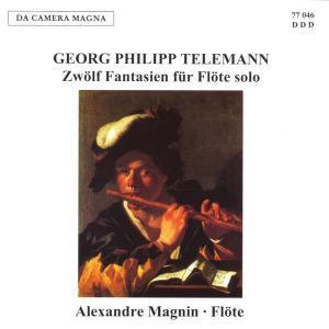 Zwölf Fantasien Für Flöte Solo als CD