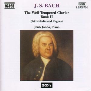 Das Wohltemperierte Klavier II als CD