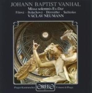 Missa solemnis Es-Dur als CD