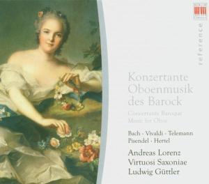 Konzertante Oboenmusik Des Barock als CD