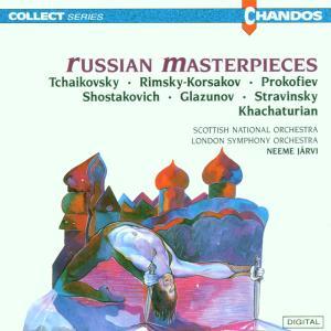 Russian Masterpieces als CD