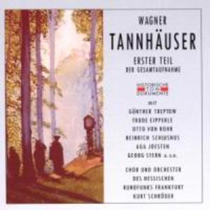 Tannhäuser (Erster Teil) als CD