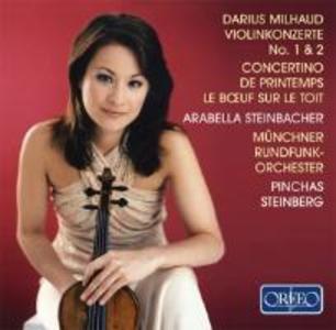 Violinkonzerte 1/2/Concertino De Printemps/+ als CD
