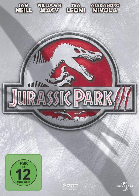 Jurassic Park III als DVD