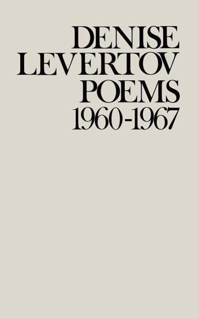 Poems of Denise Levertov, 1960-1967 als Taschenbuch