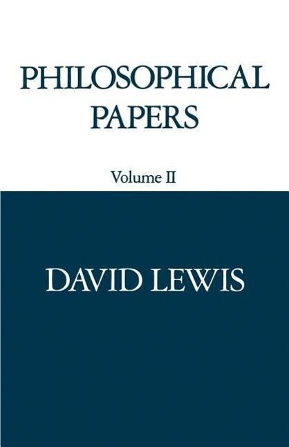 Philosophical Papers: Volume II als Taschenbuch