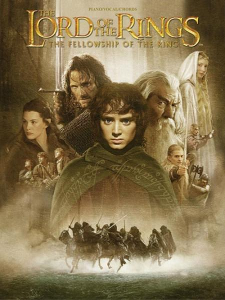 The Lord of the Rings the Fellowship of the Ring: Piano/Vocal/Chords als Taschenbuch