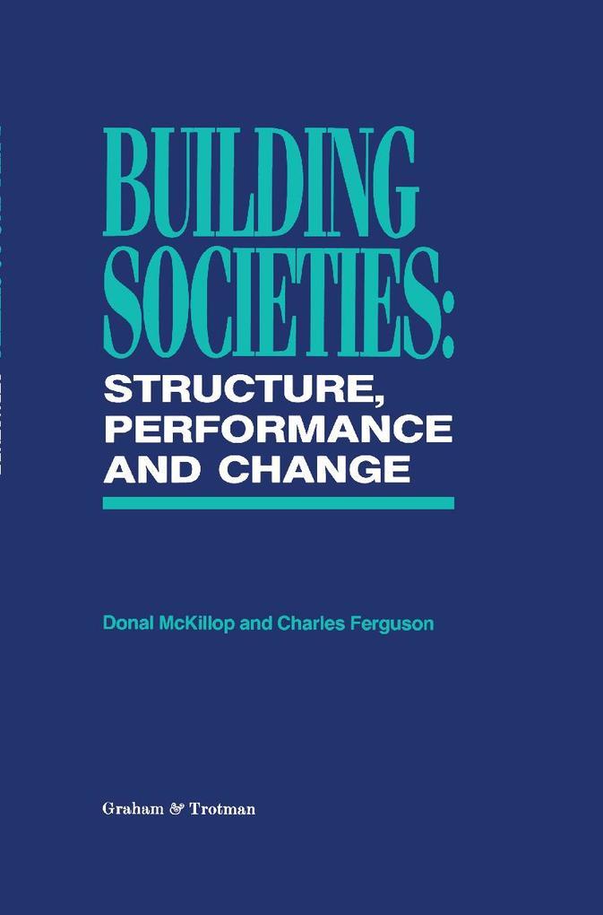 Building Societies als Buch (gebunden)