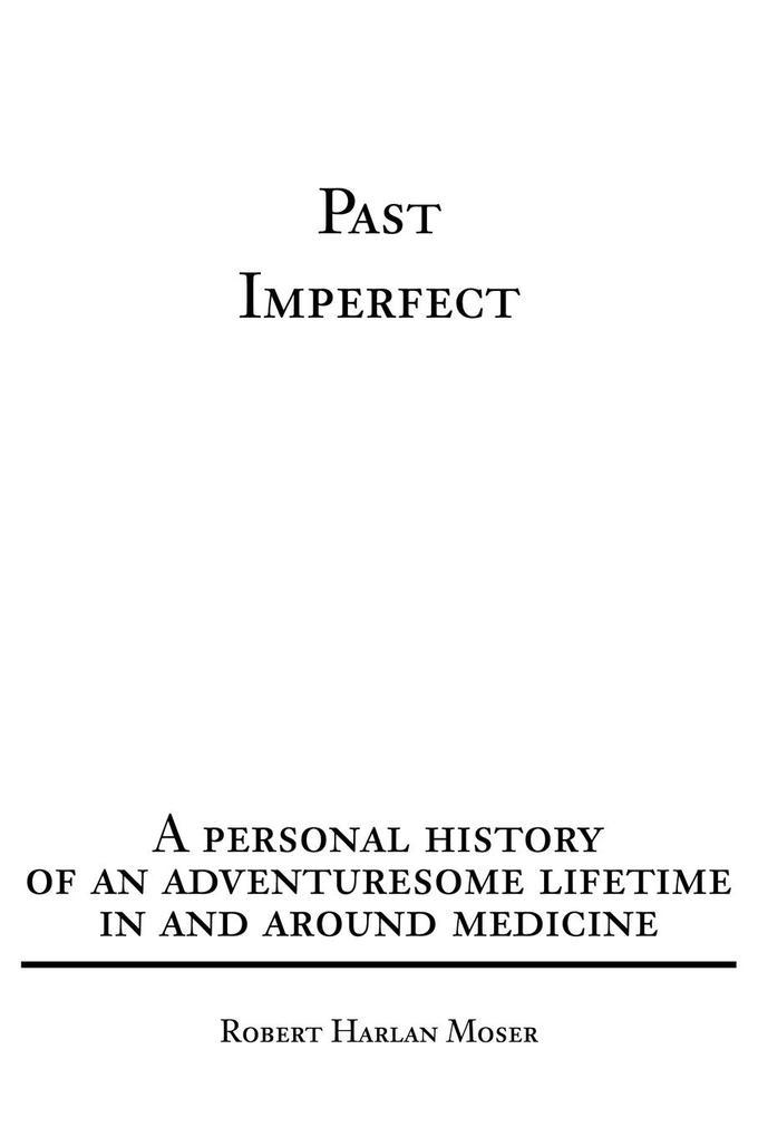Past Imperfect als Taschenbuch