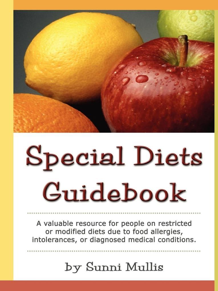 Special Diets Guidebook als Taschenbuch