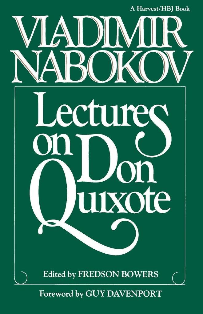 Lectures on Don Quixote als Taschenbuch