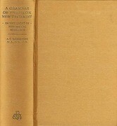 A Grammar of Greek New Testament in the Light of Historical Research