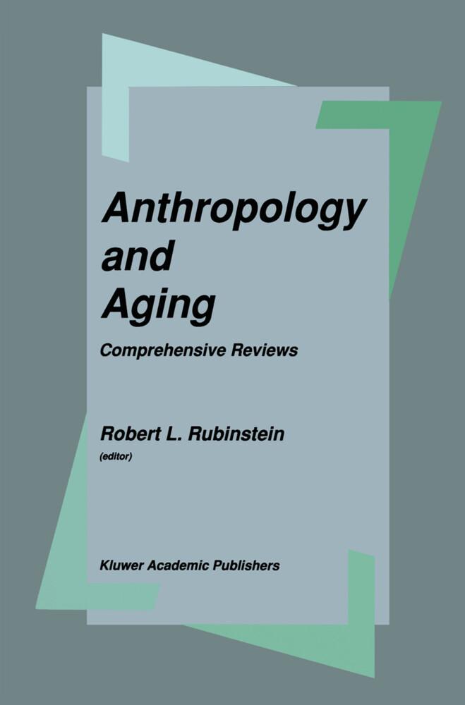 Anthropology and Aging als Buch (gebunden)