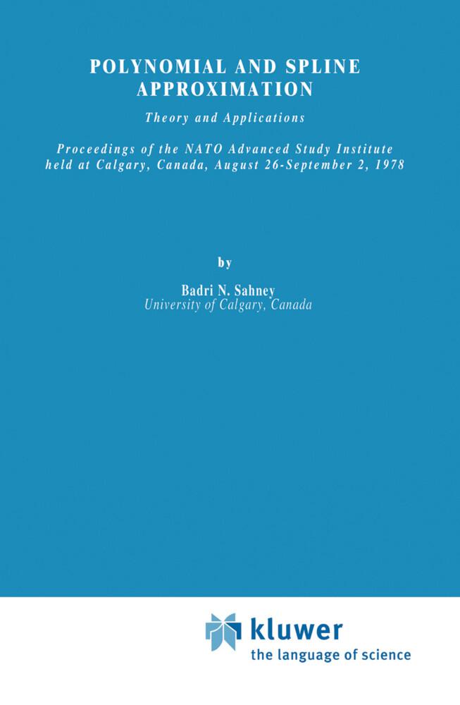 Polynomial and Spline Approximation als Buch (gebunden)