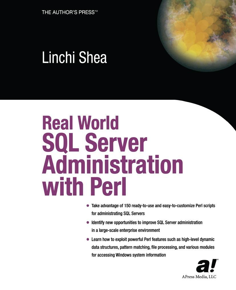Real World SQL Server Administration with Perl als Buch (gebunden)