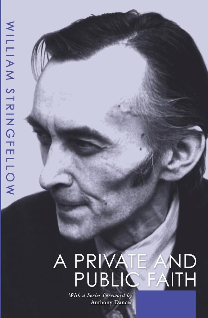 A Private and Public Faith als Taschenbuch