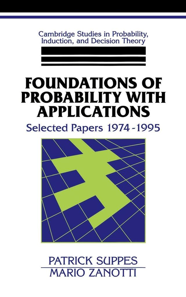 Foundations of Probability with Applications als Buch (gebunden)