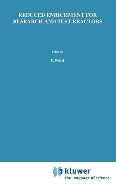 Reduced Enrichment for Research and Test Reactors als Buch (gebunden)