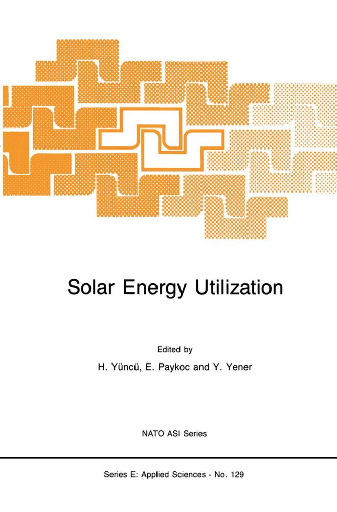 Solar Energy Utilization als Buch (gebunden)