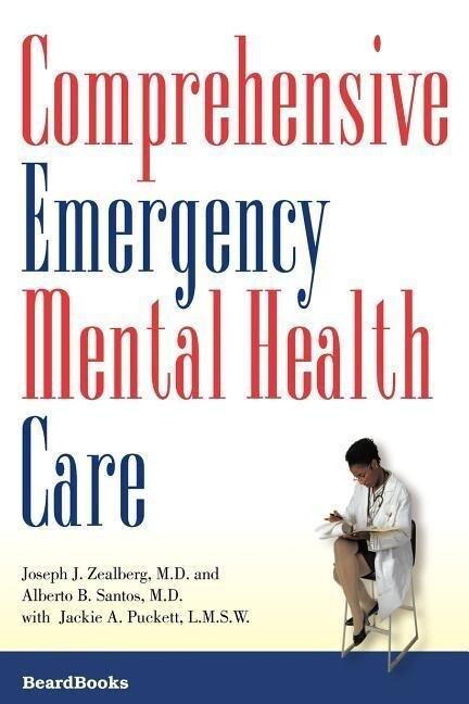 Comprehensive Emergency Mental Health Care als Taschenbuch