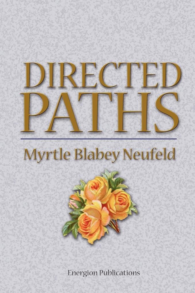 Directed Paths als Taschenbuch