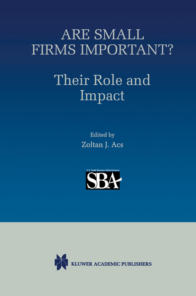 Are Small Firms Important? Their Role and Impact als Buch (gebunden)