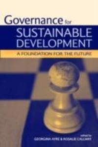 Governance for Sustainable Development als Taschenbuch
