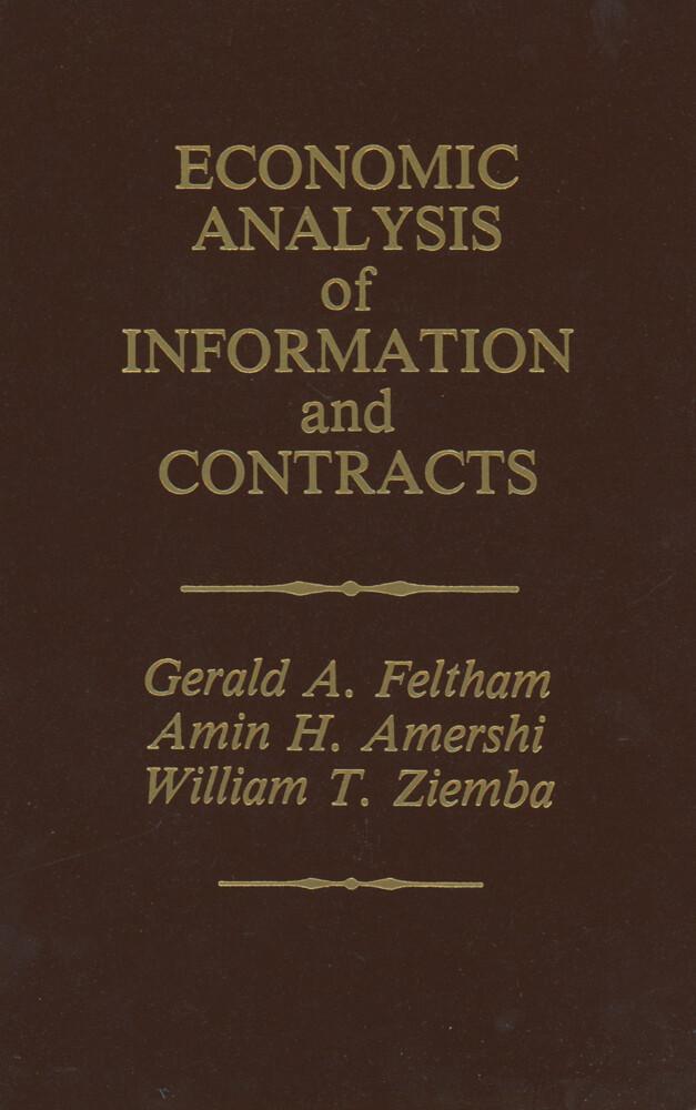 Economic Analysis of Information and Contracts als Buch (gebunden)