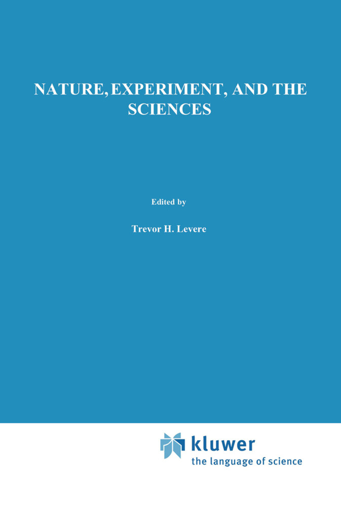 Nature, Experiment, and the Sciences als Buch (gebunden)
