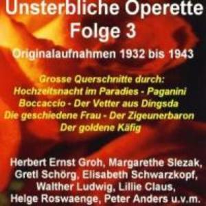 Unsterbliche Operette Folge 3 als CD