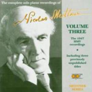 Die Soloaufnahmen Vol.3-HMV Aufnahmen 1947 als CD