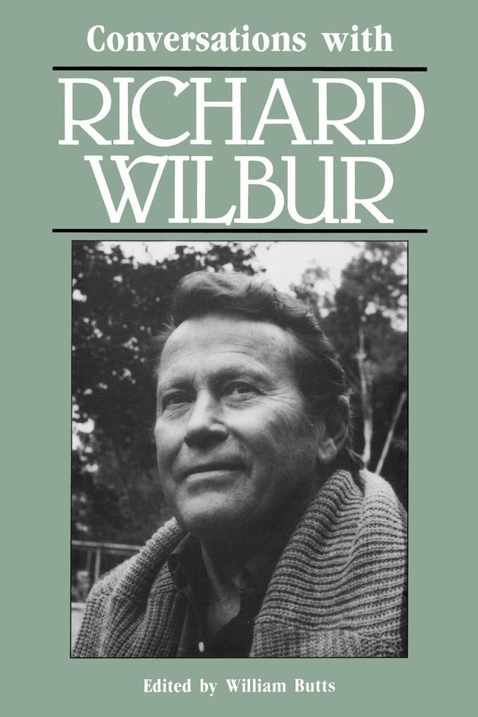 Conversations with Richard Wilbur als Taschenbuch