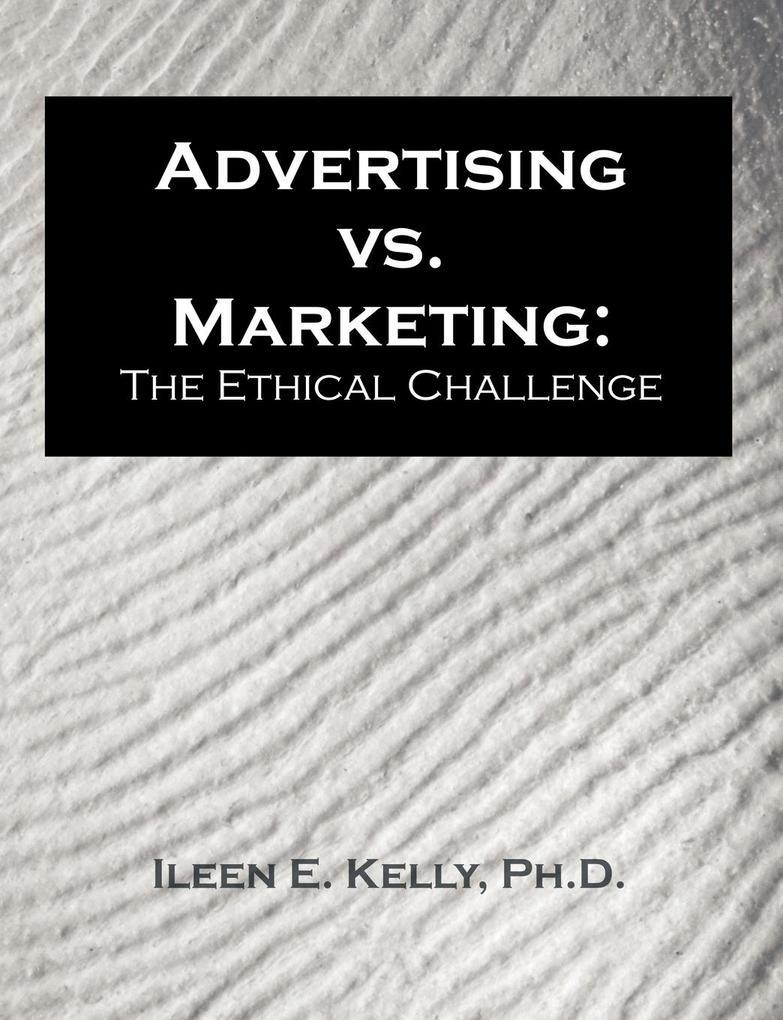 Advertising vs. Marketing als Taschenbuch