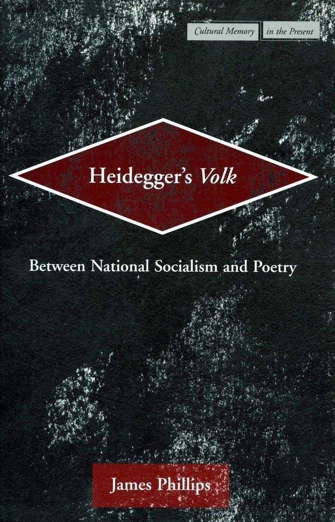 Heidegger's Volk als Buch (gebunden)