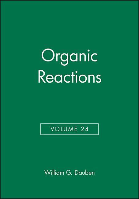 Organic Reactions, Volume 24 als Buch (gebunden)