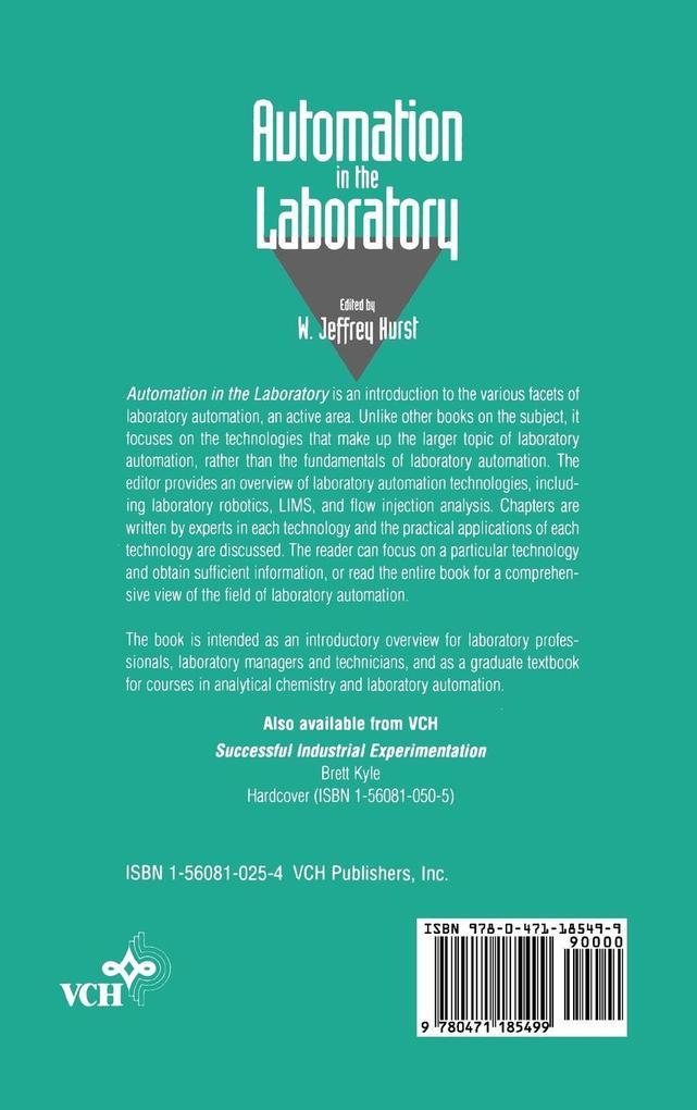 Automation in the Laboratory als Buch (gebunden)